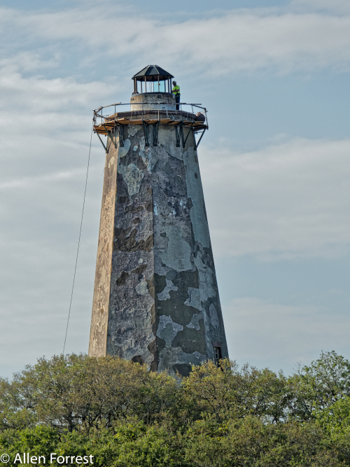 Bald Head Lighthouse, known as Old Baldy, is the oldest lighthouse still standing in North Carolina